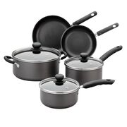 Aluminum Non-Stick 8-pc Cookware Set