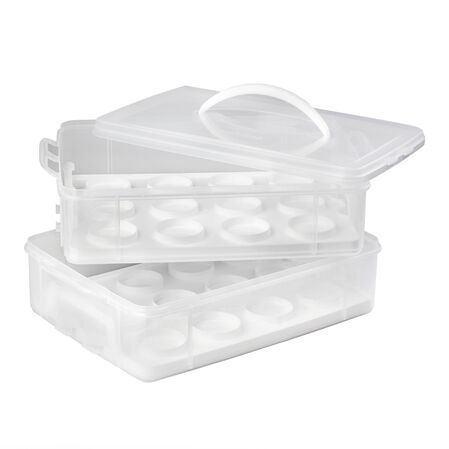 Snap 'N Stack® Cookie & Cupcake Carrier w/ Holder Trays
