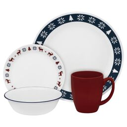 Livingware™ Nordic Blu 16-pc Dinnerware Set