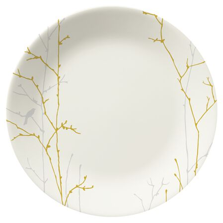 """Gilded Woods 8.5"""" Plate"""