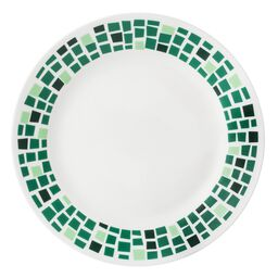"Boutique™ Precious Colors 8.5"" Plate, Emerald Green"