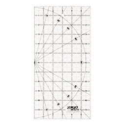 "6""x12"" Square Frosted Acrylic Ruler (QR-6X12)"