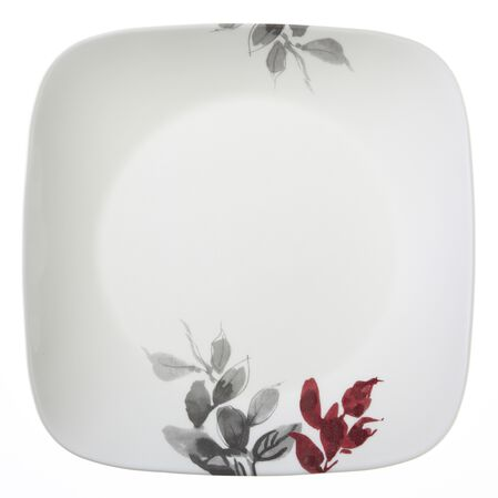 "Square™ Kyoto Leaves 10.25"" Plate"