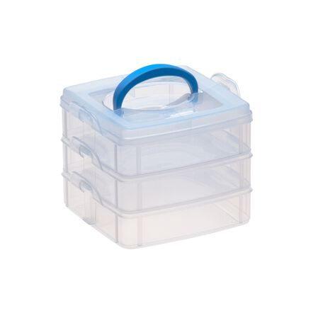 "Snap 'N Stack® 3 Layer Home Storage 6"" x 6"""