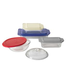 Sculptured 9-pc Bakeware Set