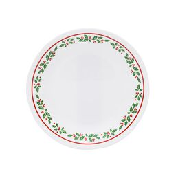 "Livingware™ Winter Holly 6.75"" Plate"