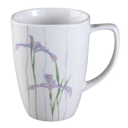 Square™ Shadow Iris 12-oz Porcelain Mug