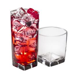 Rio 16-pc Glassware Set