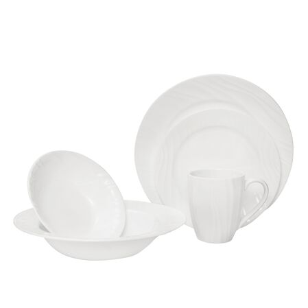 Boutique™ Swept Embossed 40-pc Dinnerware Set