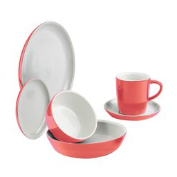 CW by CorningWare™ 6-pc Vermilion Dinnerware Set