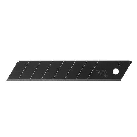 18mm black ultra-sharp snap-off blades, 10 pack (LBB-10B)