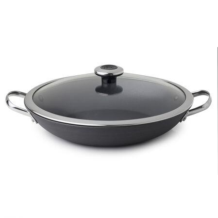 Clean Pan™ 3.2-qt Hard Anodized Aluminum Non-stick Braising Pan w/ Lid