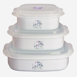 Coordinates® Shadow Iris 6-pc Microwave Set