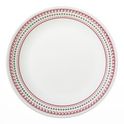 "Livingware™ Holiday Stitch 10.25"" Plate"
