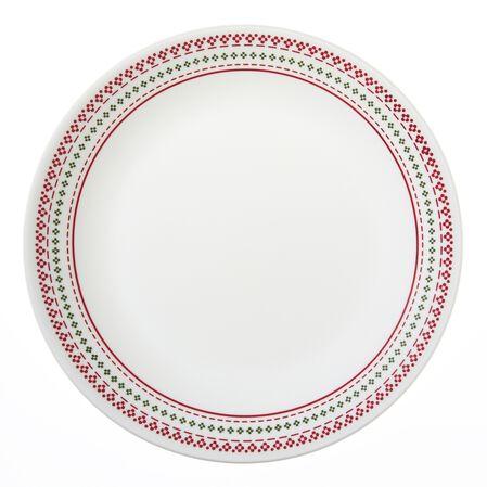 "Livingware™ Holiday Stitch 10.25"" Plate"
