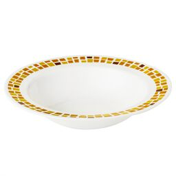 Boutique™ Precious Colors 28-oz Wide Rimmed Bowl, Yellow Gold