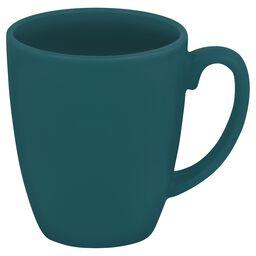 Livingware™ 11-oz Stoneware Mug, Aqua