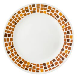 "Boutique™ Precious Colors 8.5"" Plate, Amber Copper"
