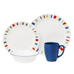 Livingware™ Memphis 16-pc Dinnerware Set