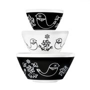 Birds of a Feather 3-pc Mixing Bowl Set, inspired by Pyrex®