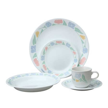 Livingware™ Friendship 30-pc Dinnerware Set