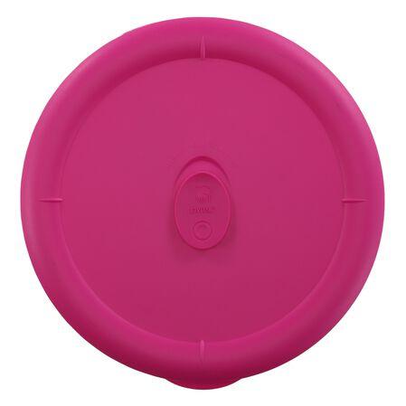 Pro 3-qt Round Lid, Berry