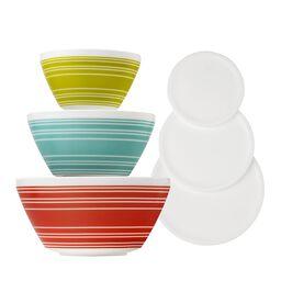 Memory Lane 6-Pc Mixing Bowl Set, inspired by Pyrex®