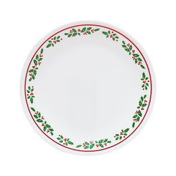 "Livingware™ Winter Holly 10.25"" Plate"