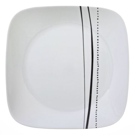 """Square™ Cascading Lines 9"""" Plate"""