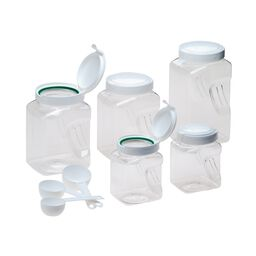 Airtight Square Canister 10-pc Set