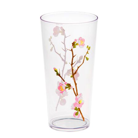 Coordinates® Cherry Blossom 19-oz Acrylic Glass