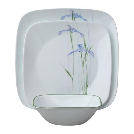Square™ Shadow Iris 18-pc Dinnerware Set