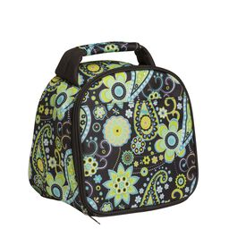 Gabby Green Paisley Lunch / Chiller Bag