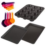 12-pc Mixed Bakeware Set