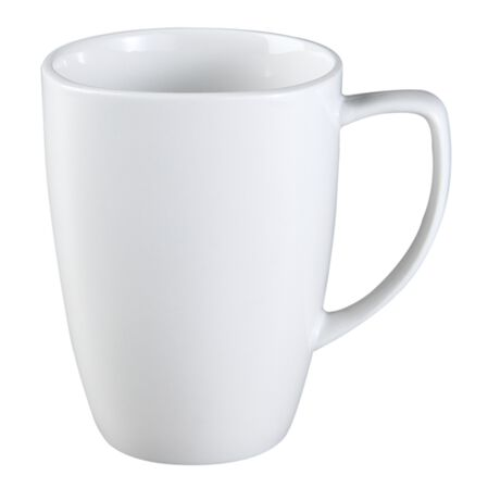 Square™ Pure White 12-oz Porcelain Mug