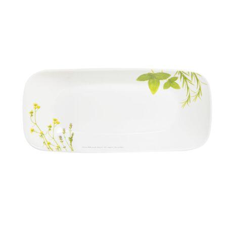 "Livingware™ European Herbs 10.5"" Appetizer Plate"