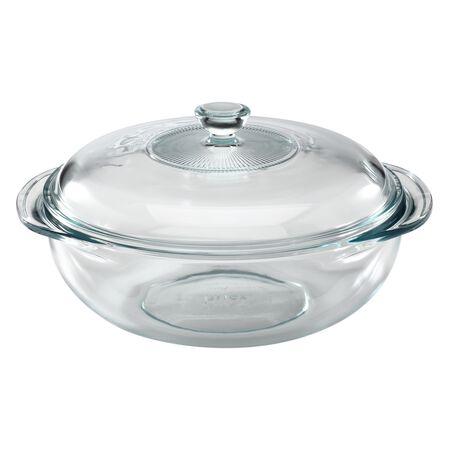 pyrex 2 qt casserole w glass lid pyrex. Black Bedroom Furniture Sets. Home Design Ideas