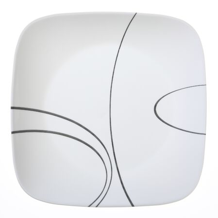 Corelle Square Simple Lines Plate
