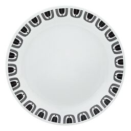 "Livingware™ Black Night 10.25"" Plate"