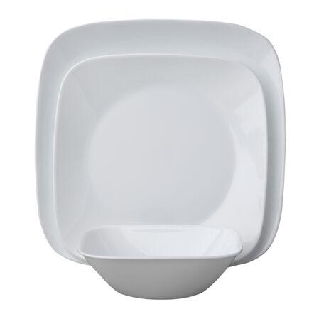 Square™ Pure White 18-pc Dinnerware Set