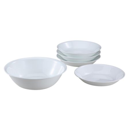Livingware™ Winter Frost White 5-pc Pasta Set