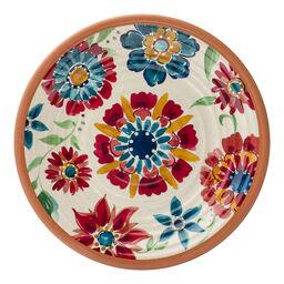 """Southwest Floral Melamine 8.5"""" Plate"""