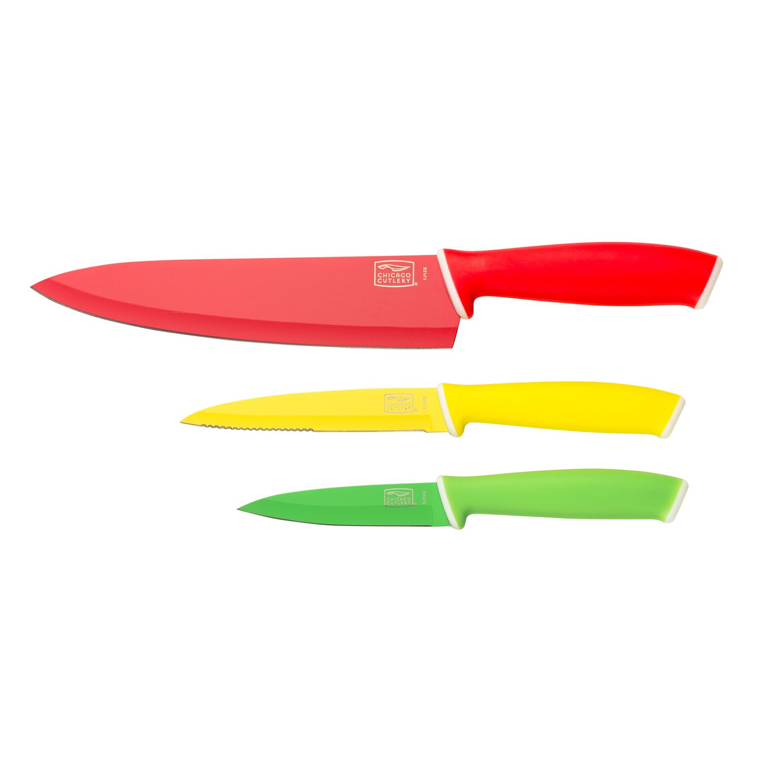 Chicago Cutlery® Vivid™ 3-Pc Knife Set