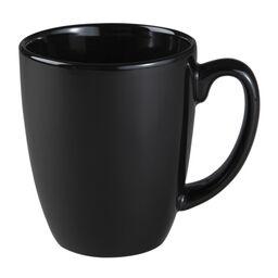 11 Ounce Stoneware Mug, Black