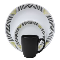 Livingware™ Global Stripes 16-Pc Dinnerware Set