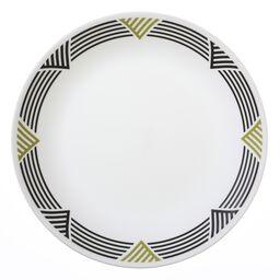 """Livingware™ Global Stripes 10.25"""" Dinner Plate"""