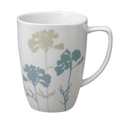 Square™ Paper Shadows 12 Ounce Porcelain Mug