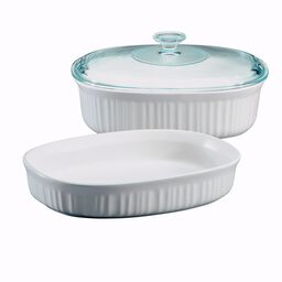 French White® 3-Pc Oval  Casserole Set