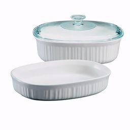 French White® 3-Pc Oval  Casserole Set