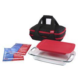 Portables® 9-Pc Easy Grab™ Double Decker Set - Black